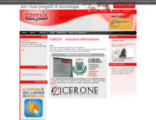 coresis.com screenshot