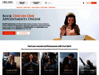 corespirit.co.uk screenshot