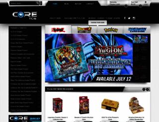 coretcg.com screenshot