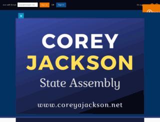 coreyjackson.nationbuilder.com screenshot