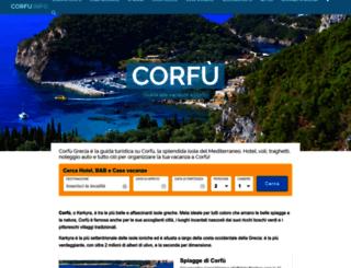 corfugrecia.com screenshot