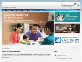 corga.garuda-indonesia.com screenshot