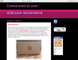 corinnasbeautyblog.blogspot.com screenshot