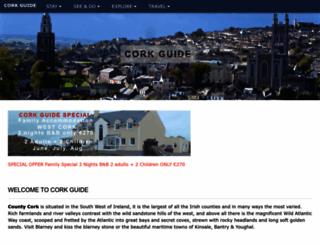 cork-guide.ie screenshot