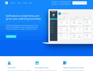 corkcrm.com screenshot