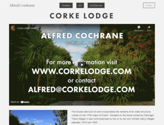 corkelodge.com screenshot
