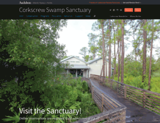 corkscrew.audubon.org screenshot