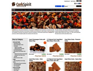 corkspirit.com screenshot
