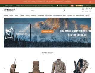 corlanes.com screenshot