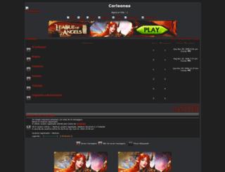 corleones.foroactivo.net screenshot