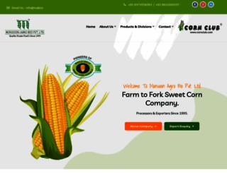 cornclub.com screenshot