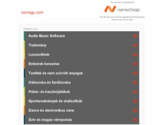cornegy.com screenshot