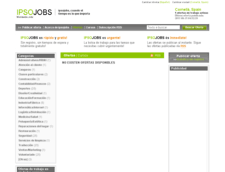 cornella.ipsojobs.com screenshot