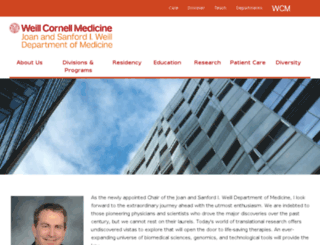 cornellmedicine.com screenshot