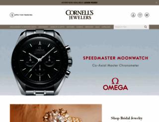 cornellsjewelers.com screenshot
