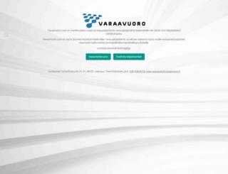 cornerclub.varaavuoro.fi screenshot