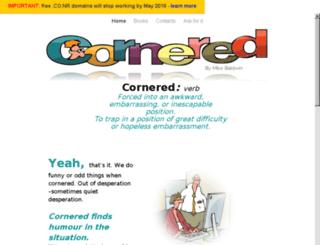 cornered.co.nr screenshot