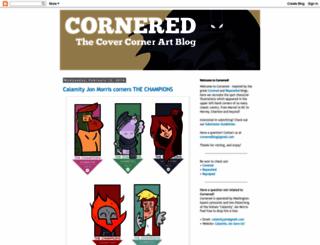 corneredblog.blogspot.com screenshot