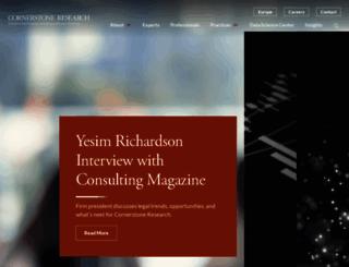 cornerstone.com screenshot