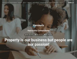 cornerstone.harcourts.co.za screenshot