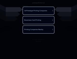 cornerstone.presspublisher.us screenshot