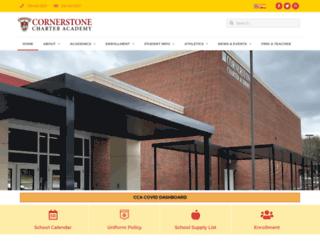 cornerstone.teamcfa.school screenshot