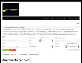 cornerstoneapartments-reslisting.securecafe.com screenshot