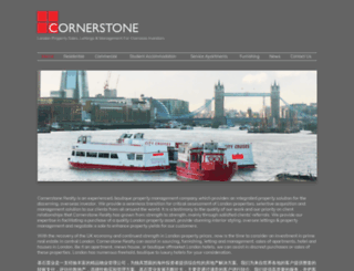 cornerstonerealty.co.uk screenshot
