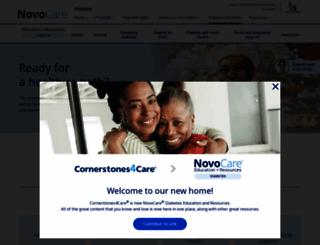 cornerstones4care.com screenshot
