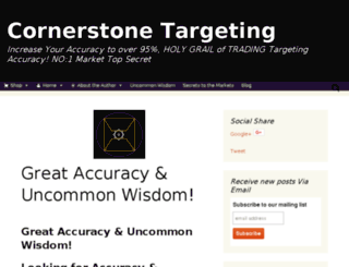 cornerstonetargeting.com screenshot