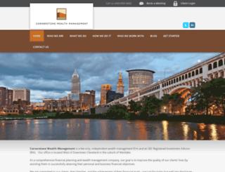 cornerstonewealth.advisorwebsite.com screenshot