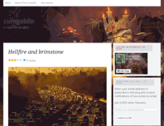 corngoblin.wordpress.com screenshot