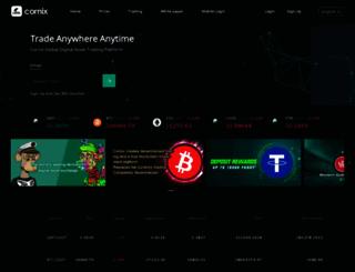 corniex.com screenshot