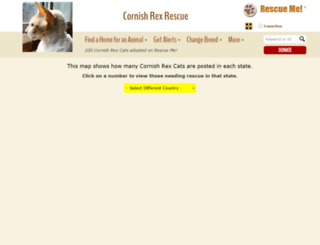 cornishrex.rescueme.org screenshot