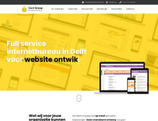 cornnet.nl screenshot