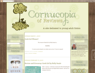 cornucopiaofreviews.blogspot.com screenshot