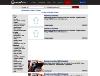 cornwall-on.canadianlisted.com screenshot