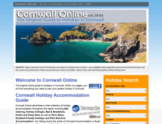 cornwall-online.co.uk screenshot