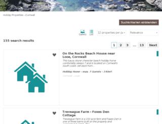 cornwall-travel.com screenshot