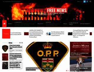 cornwallfreenews.com screenshot