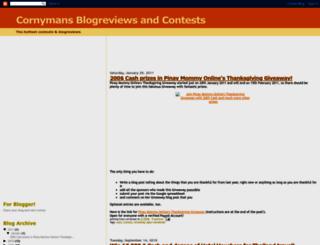 cornymans-blogreviews.blogspot.com screenshot
