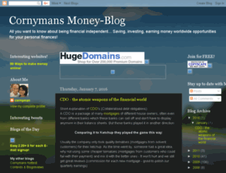 cornys-moneypage.blogspot.com screenshot