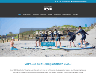 corollasurfshop.com screenshot