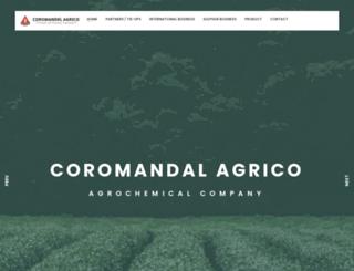 coromandelagrico.com screenshot