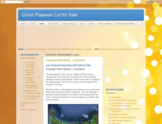 coron.palawanlotsale.com screenshot