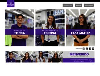 corona.trabajando.com screenshot