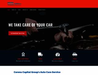 coronacapitalgroup.com screenshot