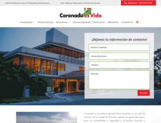 coronadoesvida.com screenshot