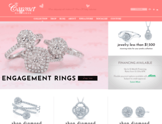 coronetdiamonds.com screenshot