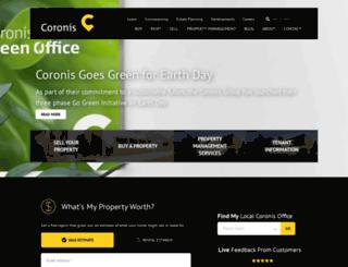 coronis.com.au screenshot